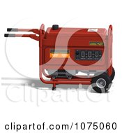 Clipart 3d Red Generator 1 Royalty Free CGI Illustration