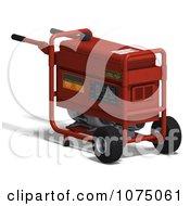 Clipart 3d Red Generator 2 Royalty Free CGI Illustration