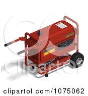 Clipart 3d Red Generator 3 Royalty Free CGI Illustration