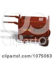 Clipart 3d Red Generator 4 Royalty Free CGI Illustration