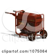 Clipart 3d Red Generator 5 Royalty Free CGI Illustration