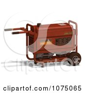 Clipart 3d Red Generator 6 Royalty Free CGI Illustration