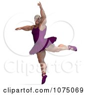 Clipart 3d Strong Male Ballerina In A Tutu 4 Royalty Free CGI Illustration