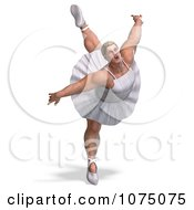 Clipart 3d Strong Male Ballerina In A Tutu 10 Royalty Free CGI Illustration