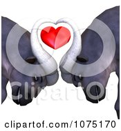 Clipart 3d Water Buffalo With A Heart Royalty Free CGI Illustration by Ralf61