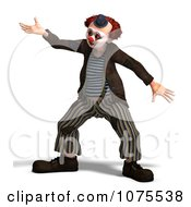 Clipart 3d Clown Dancing 5 Royalty Free CGI Illustration by Ralf61