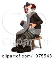 Clipart 3d Clown With An Accordion 7 Royalty Free CGI Illustration by Ralf61