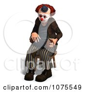 Clipart 3d Clown With An Accordion 10 Royalty Free CGI Illustration by Ralf61