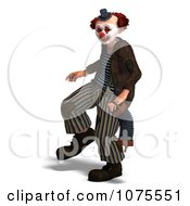 Clipart 3d Clown With An Accordion 12 Royalty Free CGI Illustration by Ralf61