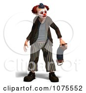 Clipart 3d Clown With An Accordion 13 Royalty Free CGI Illustration by Ralf61