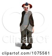 Clipart 3d Clown Royalty Free CGI Illustration by Ralf61