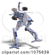 Clipart 3d Robot Spaceship 5 Royalty Free CGI Illustration by Ralf61