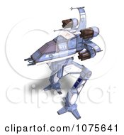 Clipart 3d Robot Spaceship 4 Royalty Free CGI Illustration by Ralf61