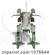Clipart 3d Robot Spaceship 1 Royalty Free CGI Illustration by Ralf61