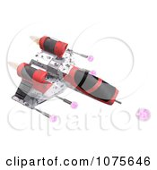 Clipart 3d Space Rocket Jet 12 Royalty Free CGI Illustration by Ralf61