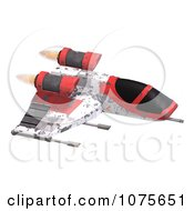 Clipart 3d Space Rocket Jet 8 Royalty Free CGI Illustration by Ralf61