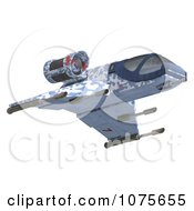 Clipart 3d Space Rocket Jet 4 Royalty Free CGI Illustration by Ralf61