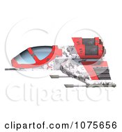 Clipart 3d Space Rocket Jet 2 Royalty Free CGI Illustration by Ralf61
