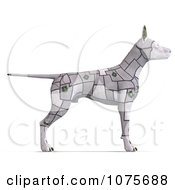 Clipart 3d Cyber Computer Dog Royalty Free CGI Illustration by Ralf61