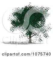 Clipart 3d Tree 11 Royalty Free CGI Illustration