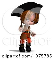 Clipart 3d Pirate Boy Holding A Sword 1 Royalty Free CGI Illustration by Ralf61
