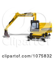 3d Earth Mover Excavator 5