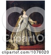 Queen Duchess And Empress Of Russia Anna Ivanovna Anna Of Russia Royalty Free Historical Clip Art