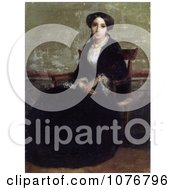 Portrait Of Genevieve Bouguereau Royalty Free Historical Clip Art by JVPD