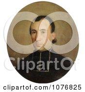 Portrait Of Eugene Bouguereau By William Adolphe Bouguereau Royalty Free Historical Clip Art