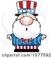 Clipart Shocked Uncle Sam Royalty Free Vector Illustration