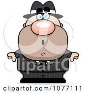 Clipart Shocked Mobster Royalty Free Vector Illustration