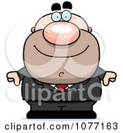 Clipart Businessman In A Suit Royalty Free Vector Illustration