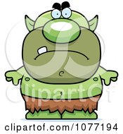 Clipart Mad Goblin Royalty Free Vector Illustration by Cory Thoman