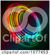 Clipart Vibrant Colorful Circle Royalty Free Vector Illustration