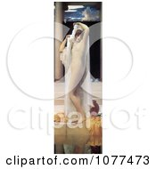 Painting Of A Nude Woman Undressing By A Pool The Bath Of Psyche By Frederic Lord Leighton Royalty Free Historical Clip Art by JVPD