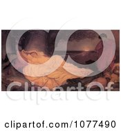 Painting Of Cymon And Iphigenia By Frederic Lord Leighton Royalty Free Historical Clip Art