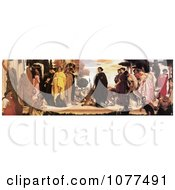 Painting Of Women In Robes With Big Cats On Leashes The Syracusan Bride By Frederic Lord Leighton