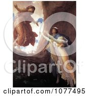 Painting Of The Return Of Persephone By Frederic Lord Leighton Royalty Free Historical Clip Art