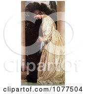 Painting Of Sisters Hugging By Frederic Lord Leighton