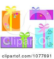 Gift Box Design Elements