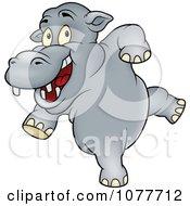 Happy Dancing Hippo