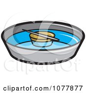Clipart Compass Royalty Free Vector Illustration by jtoons