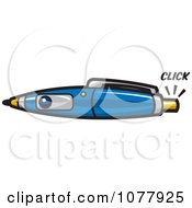 Clipart Spy Camera Pen Royalty Free Vector Illustration