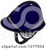 Clipart Equestrian Helmet Royalty Free Vector Illustration by jtoons
