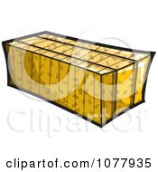 Clipart Bale Of Hay Royalty Free Vector Illustration by jtoons