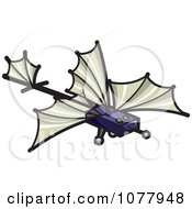 Clipart Spy Glider Royalty Free Vector Illustration