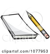Pencil And Note Pad
