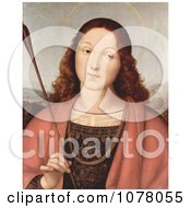 Painting Of St Sebastian Holding An Arrow By Raphael Royalty Free Historical Clip Art