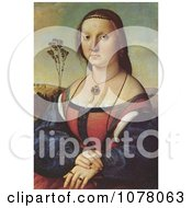 Portrait Of Maddalena Doni By Raphael Royalty Free Historical Clip Art