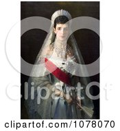 Painting Of Maria Feodorovna Of Russia Royalty Free Historical Clip Art